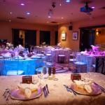 Grand salon - réception de mariage (chaise et nappes en location externe)